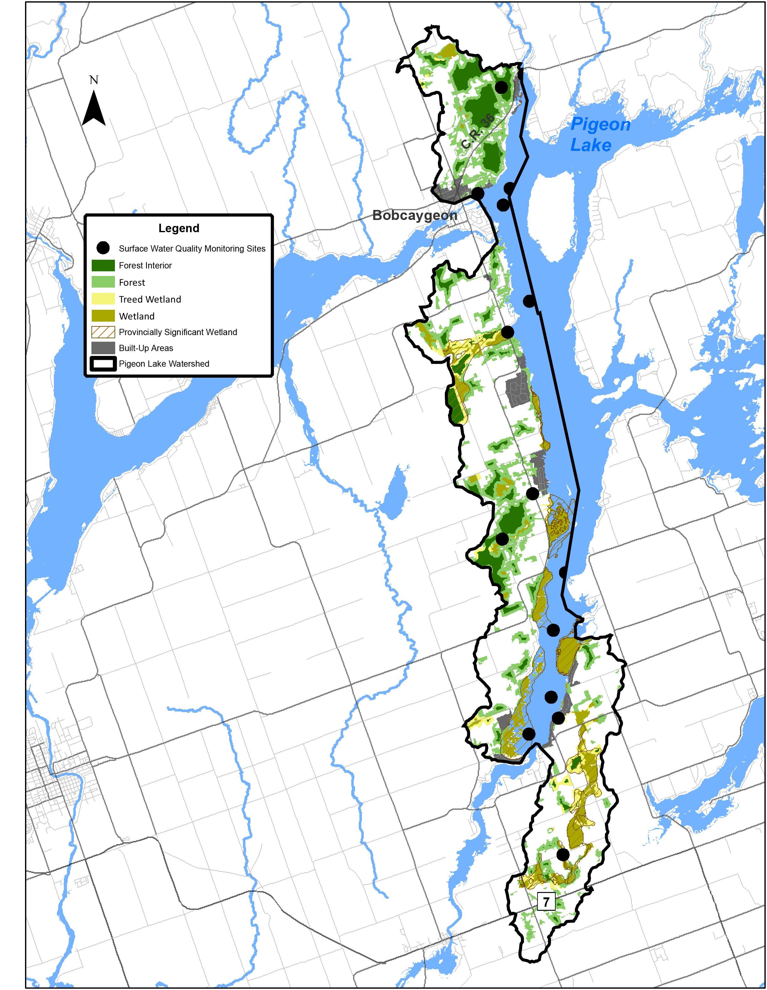 map of pigeon lake ontario Pigeon Lake Kawartha Conservation map of pigeon lake ontario