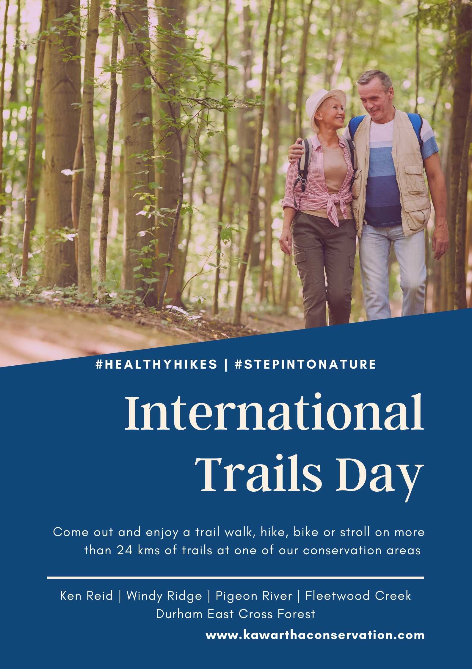 International Trails Day Poster
